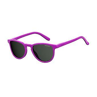 Polaroid PLD8029/S MU1/M9 Fuchsia/Polarised Grey Sunglasses