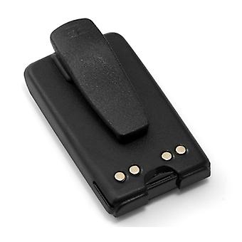 PMNN4071 NiMh Battery for Motorola BPR40 & A8 Mag One Portable Two-Way Radio Models w/ Belt Clip