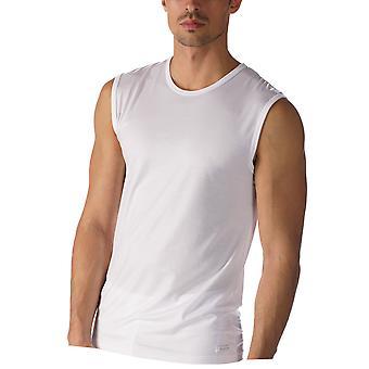 Mey 34237-101 mäns nätverk vit färg linne Vest