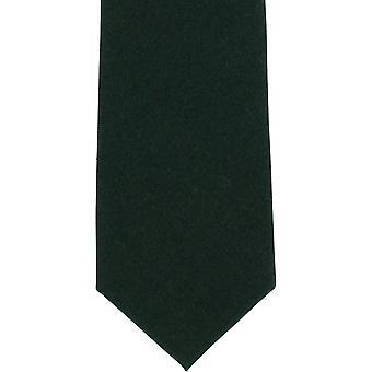Michelsons af London almindelig uld slips - grøn