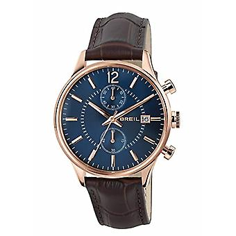 Breil watch Chronograph quartz men's watch with leather TW1570