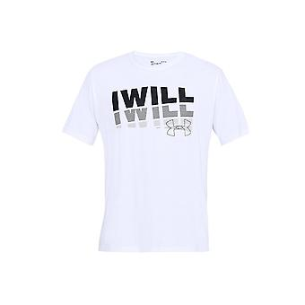 Under Armour I Will 20 Short Sleeve Tee 1329587100 universal all year men t-shirt
