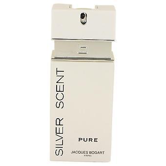 Zilveren geur Pure Eau De Toilette Spray (Tester) door Jacques Bogart 3.4 oz Eau De Toilette Spray