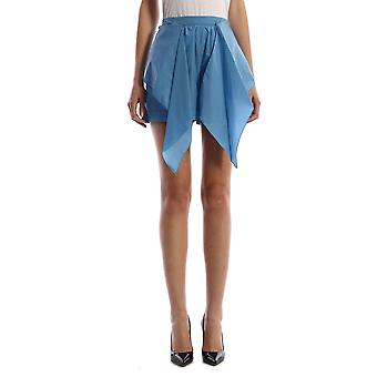 Kenzo Fa52sh0515as67 Women's Light Blue Nylon Shorts