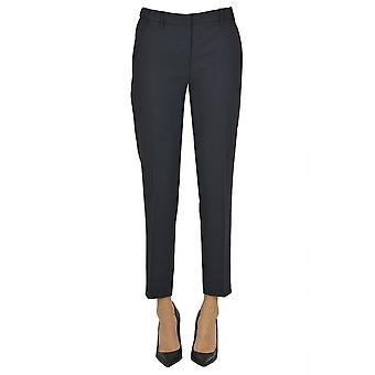 Pantalon en polyester bleu Ezgl068193