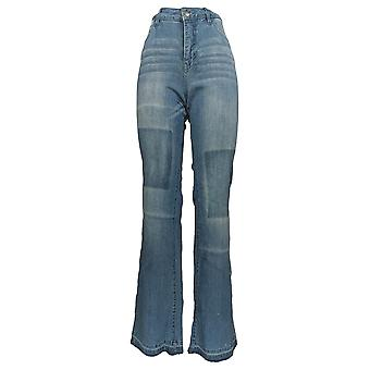 Frauen mit Kontrolle Frauen's Jeans My Wonder Denim Boot Cut Blue A310892