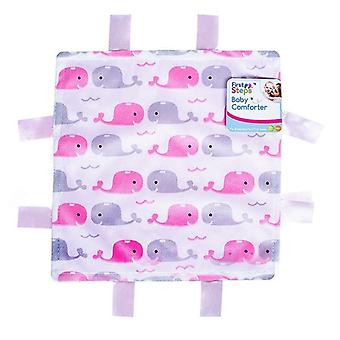 First Steps Comforter with Tags - Pink