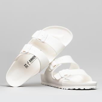 Биркенсток Аризона 129443 (нар) Дамы Ева Два ремешка сандалии белый
