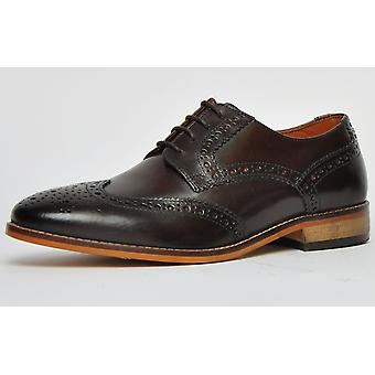 Ikon Classic Thorpe Leather Dark Brown