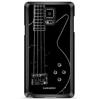 Bjornberry Shell Samsung Galaxy Note 4 - Guitare