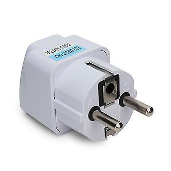 Universal power travel adapter au us uk to eu europe ac 250v