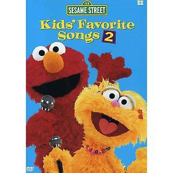 Sesame Street - Kids' Favorite Songs 2 [DVD] USA import