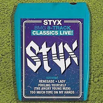 Styx - Bmg 8-Track Classics Live [CD] USA import