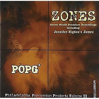 Higdon / Popg - Zones [CD] USA import