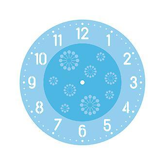 Arabische Uhr Gesicht Schablone für Uhr machen Handwerk