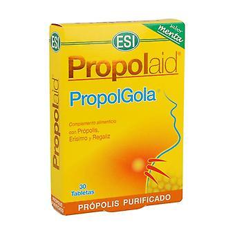 Propolaid PropolGola Mint flavor 30 tablets (Mint)