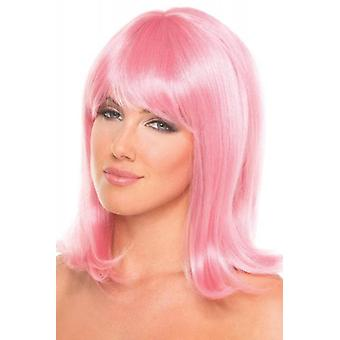 Doll Wig - Pale Pink