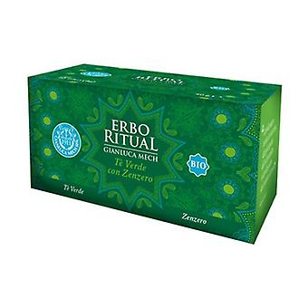 Erbo ritual Green tea with ginger 20 units