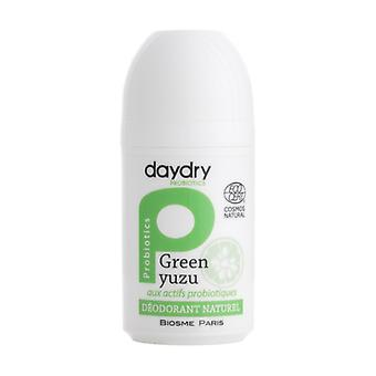Green Yuzu probiotic deodorant moisturizer 50 ml