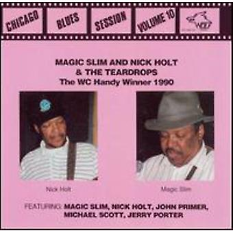 Magic Slim & Teardrops - Magic Slim & Teardrops: Vol. 10-Chicago Blues Sessions [CD] USA import
