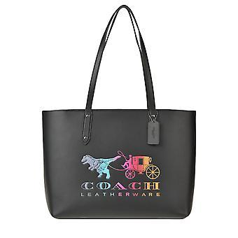 Coach Ezgl005020 Femmes-apos;s Black Leather Tote