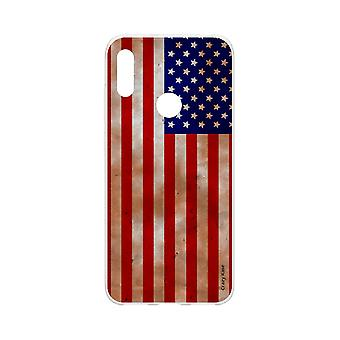 Hull For Huawei Y6s Soft Flag Usa