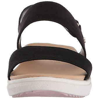 Dr. Scholl's Shoes Womens F4567M2 NuBuck Open Toe Casual Slingback Sandals