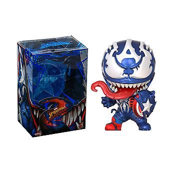 Venom Venomized Capitán América Cosbaby