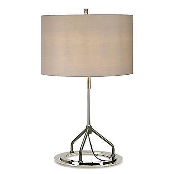 Elstead Vicenza - Lampe de table - Nickel blanc poli, E27