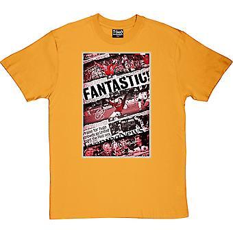 Champions League-finale 1999 Gele men's T-shirt