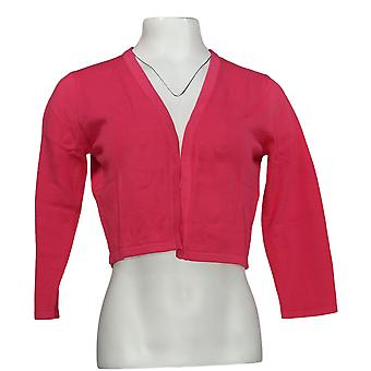 NorthStyle Women's Sweater Open Front Cardigan Pink