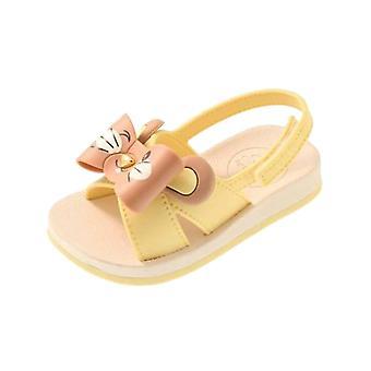 Baby Sense by Grendha Animal Infant Sandals - Lemon