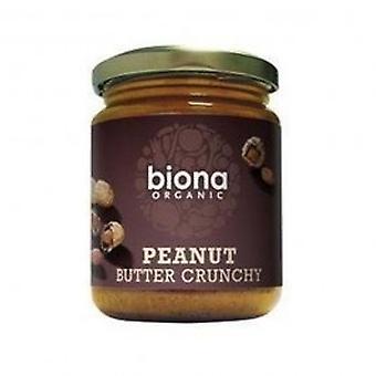 Biona - Organic Crunchy Peanut Butter 250g