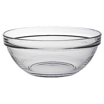 Duralex Lys Apilamiento de vidrio cocina / Ingredientes / Food Bowl - 17cm - Pack de 1