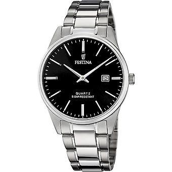 פסטינה-שעון יד-גברים-F20511-4-רצועת פלדה קלאסי
