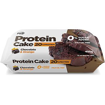 PWD Nutrition Chocolate Protein Cake with Orange 12 units