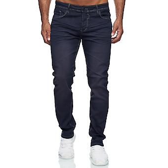Men Jeans Regular Fit Stretch RAW Washed Effect Classy Style Basic Casual
