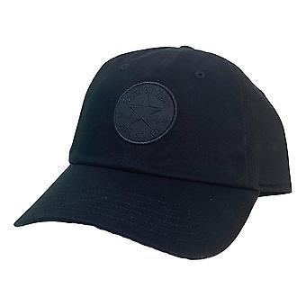 كونفيرس نغمي تشاك التصحيح قبعة البيسبول -- أسود