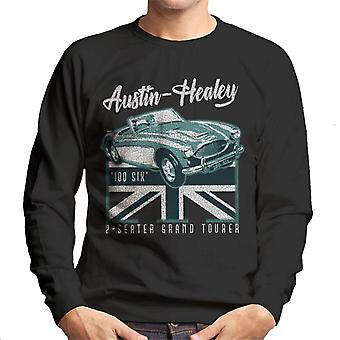 Austin Healey 2 Seater Grand Tourer British Motor Heritage Men's Sweatshirt