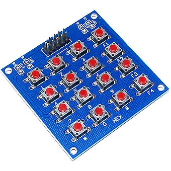 Funduino 4x4 Matrix Micro Switch Keypad Module