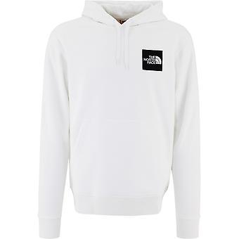 The North Face Nf0a4syzfn41 Män's Vit Bomull Sweatshirt