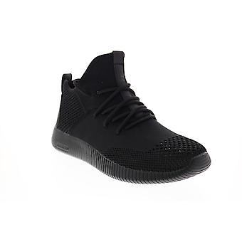 Skechers Depth Charge Bis zum Schnupftabak Mens Black Lifestyle Sneakers Schuhe