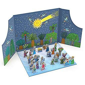 The Birth of Jesus Advent Calendar and Nativity Scene� (Agostino Traini Pop-Ups)