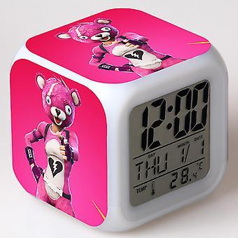 Colorful Multifunctional LED Children's Alarm Clock -Quinze dias #17