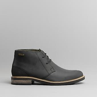 Barbour Readhead Mens Leather Chukka Boots Black