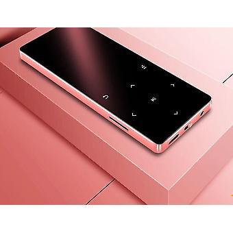 Bluetooth 4.2, kannettava ja ohut design-mp4-musiikkisoitin 1,8 tuuman kosketuksella