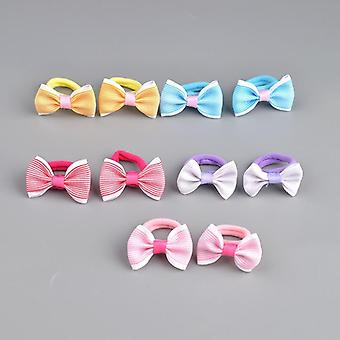 Cute Pattern, Bow Design Elastic Hair Rubber Bands