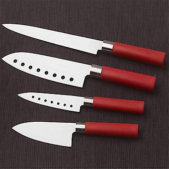 Cuchillos de revestimiento cerámico Cecotec Santoku (4 uds)
