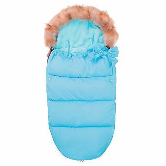 Barns sovsäck blå - 70x45 cm - för vagn & resesäng