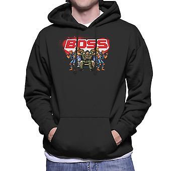 Sega Calles de Rage Boss Hombres's Sudadera con capucha